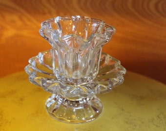 Vintage tulip candle holder