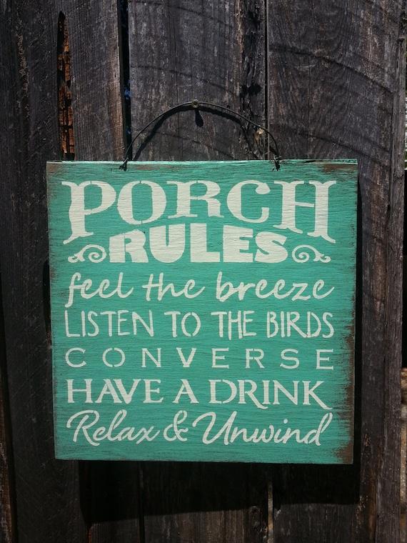 porch sign, porch decor, porch rules, porch welcome sign, porch decor, porch decoration, front porch, front porch sign, front porch