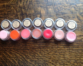 Grab bag 5 Tinted Lip Balm Gloss *5 random colors and flavors*
