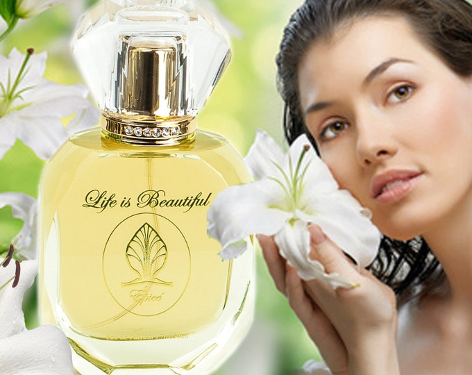 Épicé by Florencia Perfume for Women; Florencia Collection Life is Beautiful; Spicy Woody Floral Eminence of Feminine Power & Love