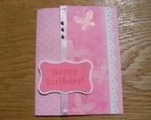 Handmade Greeting Card: Girl Birthday Card