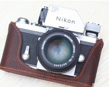 For Nikon F Leather Cameras Case, Nikon Camera Case, Handmade Leather Camera Protector, customized camera bag
