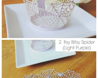 Cupcake Wrappers (CW-08 Itsy Bitsy Spider)
