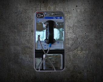 Vintage Payphone - iPhone & Samsung Protective Phone Case