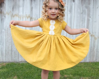 Vintage inspired toddler dress size 2/3