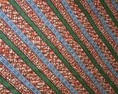 African Dutch Wax Fabric Hollandais Ankara Per Yard Red Blue Green White/African Fashion/Upholstery/ Home Decor