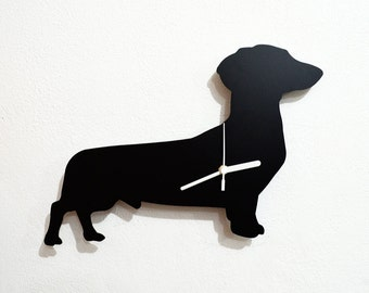 Dachshund Dog 4 - Wall Clock