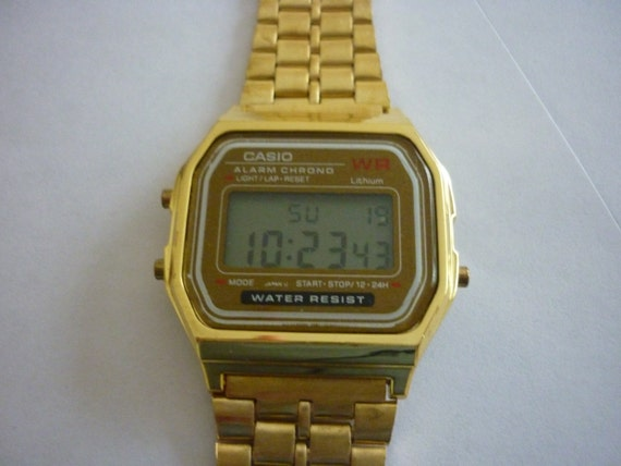 casio 1980s digital watches 408inc