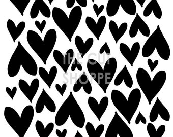 The You Gotta Have Heart cut file is a background, available in 8.5x11 and 12x12 sizes.