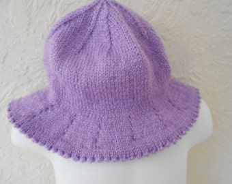 NEW – 3-6mths, lilac sparkle, eye catching, practical, sun hat
