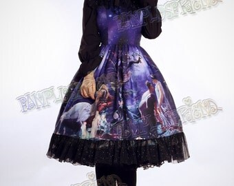 Exclusive Designer Fashion, Neo-ludwig A Midsummer Night's Dream: Classic Lolita Sleeveless Dress