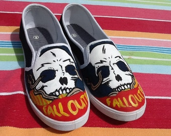 Fall Out Boy Inspired Shoes