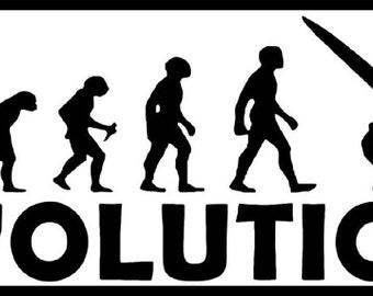 EVOLUTION WINDSURF windsurfing funny joke windsurfer tshirt all sizes & colours