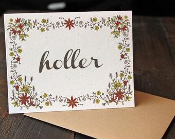 Card Set: Holler Social Notes with Envelopes - Terra (Set of 10)