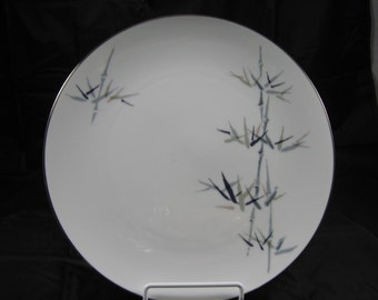 VINTAGE NORITAKE BAMBOO 10 5/8 inch dinner plate