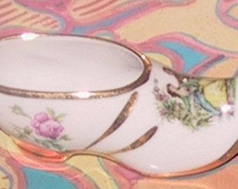 Miniature Limoges Porcelein Shoe