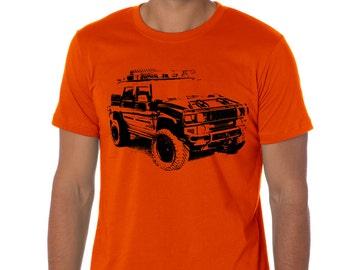 Car T-shirt Hummer H2 suv gift for real men husband boyfriend AWD AUT053
