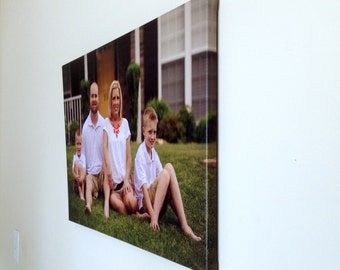 Canvas Photo Prints - Your Own Photo Printed on Canvas With Frame