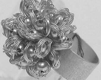 "Brazil Ring ""Silver Balls"" Silver"