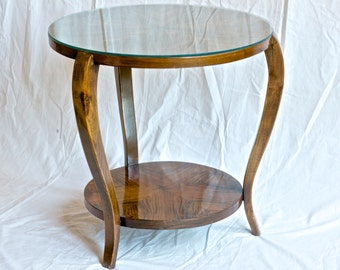 Vintage French Art Deco Side Table