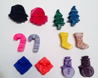 Christmas Crayons! Party favours. Stocking stuffers.