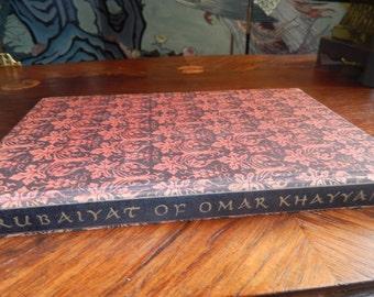 RUBAIYAT of OMAR KHAYYAM Book