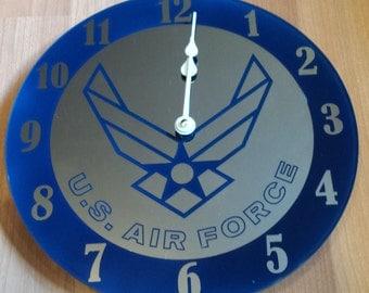 Air Force Clock - Mirror
