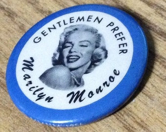1956 Marilyn Monroe Promotional Button