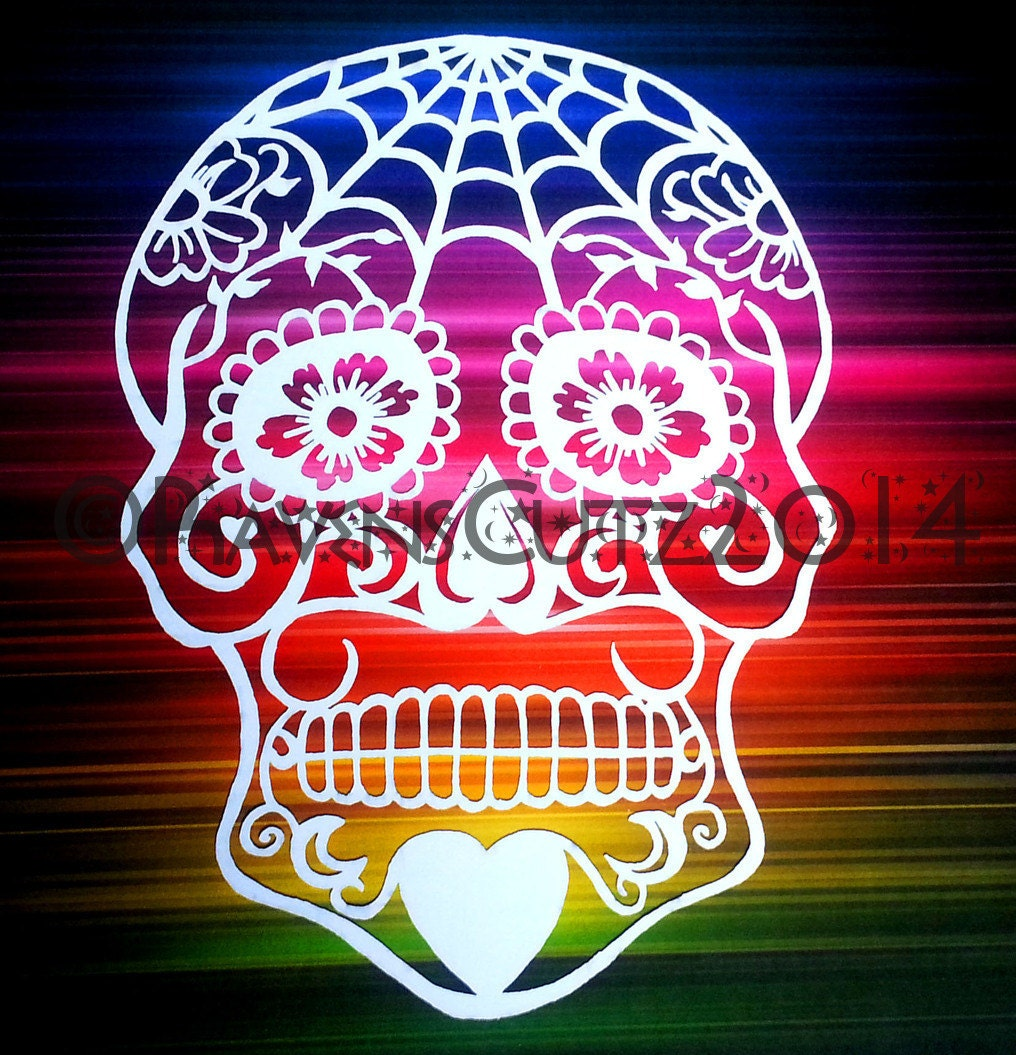 It's just a photo of Decisive Day of the Dead Skull Template Printable