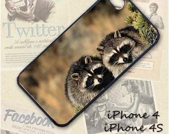 Raccoons phone Case / Cover for iPhone 4, 5, Samsung S3, HTC One X, Blackberry 9900, iPod touch 4 / 357