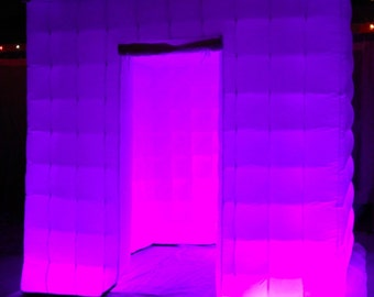 LED-Inflatable-Photo Booth Enclosure