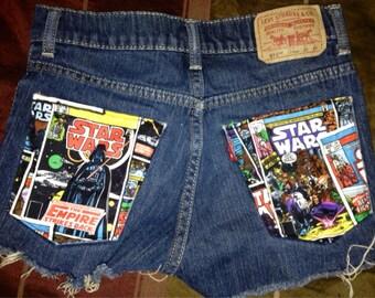 Small Levi Star Wars shorts