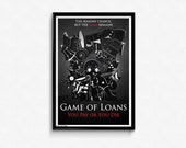 Game of Loans - Animal Crossing / Game of Thrones poster