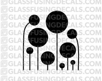 Enoki Mini Glass Fusing Decal for Glass or Ceramics