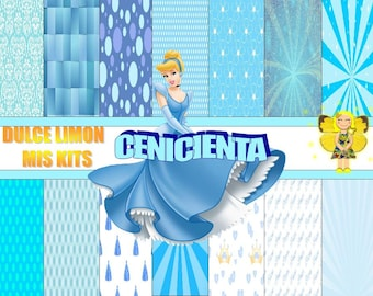more clipart digital papers kit cinderella !!!