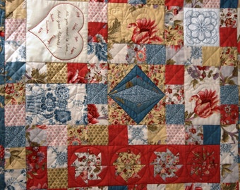 Friendship Quilt Block of the Month - Block 7