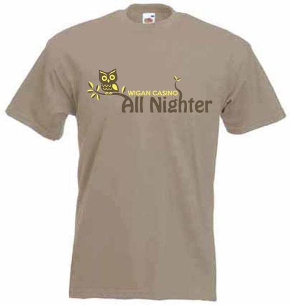 Wigan casino night owl t-shirt villa antinori igt 2004