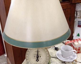 Repurposed Vintage Universal Scale Lamp 1920s