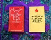 Vintage Books - OG Mandino The Greatest Secret in the World and the Gift of Acabar