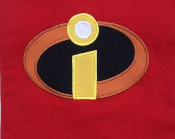 The Incredibles T-shirt Disney World Mickey Mouse Head Girls Women Adult Shirt