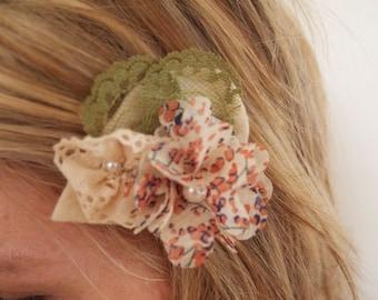 Handmade Floral Hair Clip