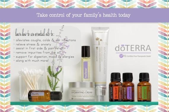 Items similar to doTERRA Postcard Invitation Medicine Cabinet