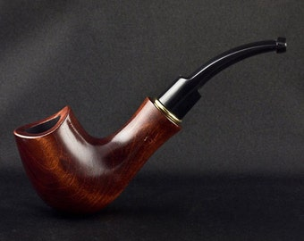 """6.1"""" Carved wooden smoking pipe. Best smoking pipes. WORLDWIDE shipping."""