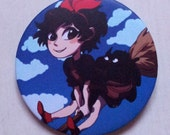 Kiki's Delivery Service button - Ghibli