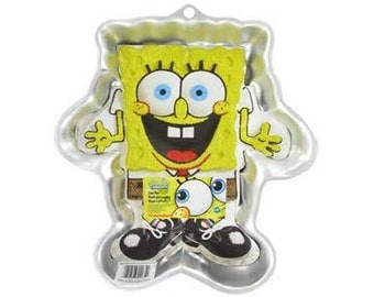 Wilton Spongebob Square Pants Cake Pan