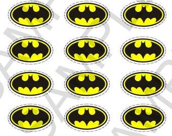 Batman Cake Toppers Printable