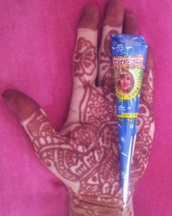 Mehndi Body Art Quality Henna : Cones natural henna tattoo paste body art heena mehndi