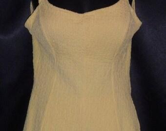 Vintage 1950's Yellow JANTZEN Pin-up Swimsuit / Bathing Suit - 36-38