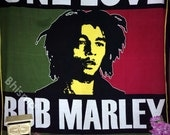 One love bob marley jamaican music songs tapestry wall hanging home decor