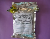 Bath Salts Breathe Deep Blend 8 oz package